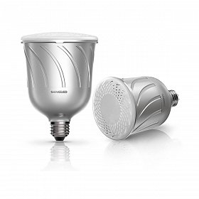 Набор из 2-х смарт-ламп Sengled Pulse Master Kit 8W Bluetooth Alluminium со встроенной JBL акустикой
