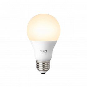 Смарт-лампочка PHILIPS Single bulb E27 White A60
