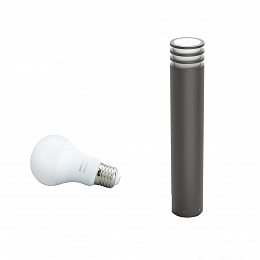 Смарт-светильник PHILIPS Lucca post anthracite 1x9.5W 230V (17403/93/P0)