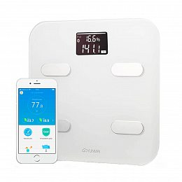 Весы YUNMAI Color Smart Scale White/Gold (M1302-GD)