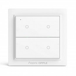 Умный выключатель Aqara Opple Light Switch (Double-Button) Zigbee 3.0 (WXCJKG12LM)