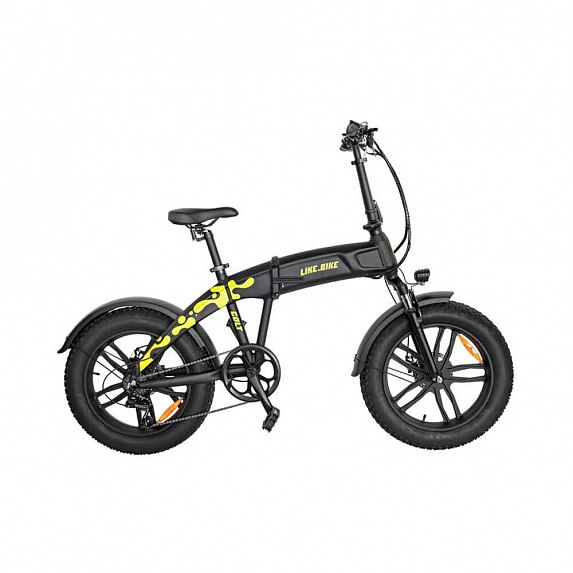 Электровелосипед Like.bike Colt (black green)