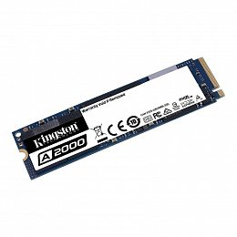 SSD накопитель 500GB Kingston A2000 M.2 2280 PCIe NVMe 3.0 x4 3D TLC (SA2000M8/500G)