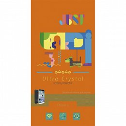 Защитная пленка JUST Ultra Crystal Screen Protector for iPhone 6 (JST-CRLSP-IP6)