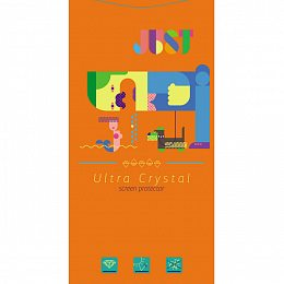 Защитная пленка JUST Ultra Crystal Screen Protector for iPhone 5/5S/5С/SE (JST-CRLSP-IP5FR)