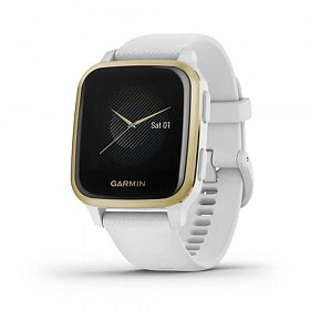 Cмарт-часы GARMIN Venu SQ White/Light Gold
