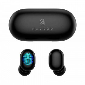 Наушники XIAOMI Haylou GT1 Plus TWS Bluetooth Earbuds Black