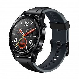 Смарт-часы HUAWEI Watch GT Sport (FTN-B19) Black (55023259)