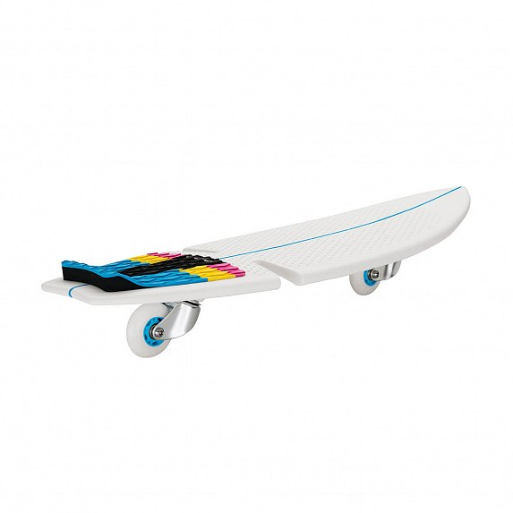 Скейтборд Skateboard Razor RipSurf 2 wheel White/Blue (15073394)