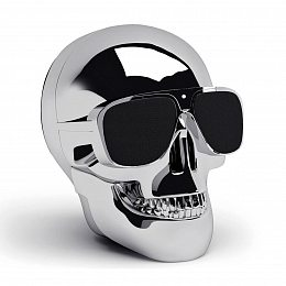 Акустика Jarre Technologies AeroSkull Nano Chrome Silver (ML80110)