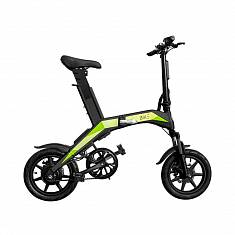 Электровелосипед Like.Bike Neo + (gray/green)