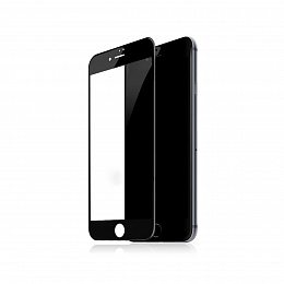 Защитное стекло Baseus Silk-screen 3D Arc for iPhone 7+/8+ Black (SGAPIPH8P-KA01)