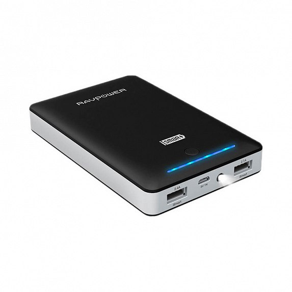 RAVPower 16750mAh Deluxe Portable Charger Black