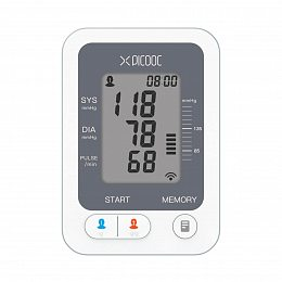 Тонометр PICOOC Wireless Blood Pressure Wrist Monitor PB-X1 White (BL-BPM920A)