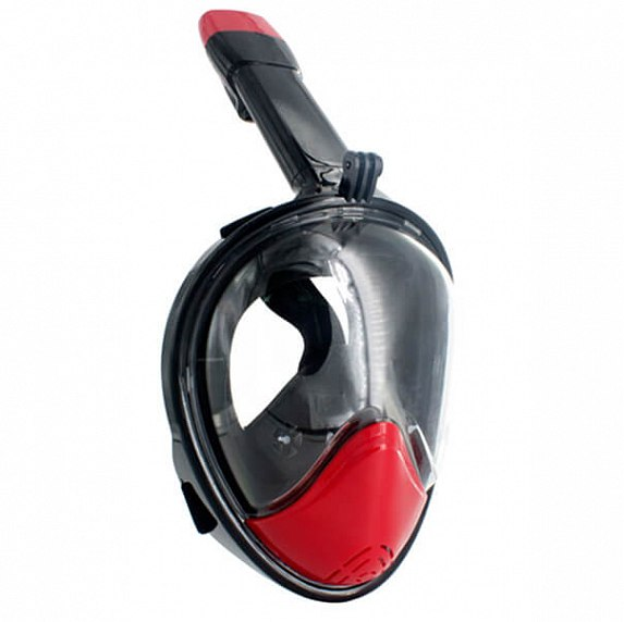 JUST Breath Pro Diving Mask L/XL Red/Black (JBRP-LXL-RB_Уценка)