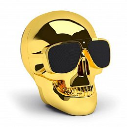 Акустика Jarre Technologies AeroSkull Nano Chrome Gold (ML80112)