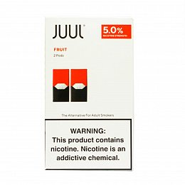Картиридж JUUL Pods 2 pack Fruit 0.7 ml with 5% nicotine (Фрукты)