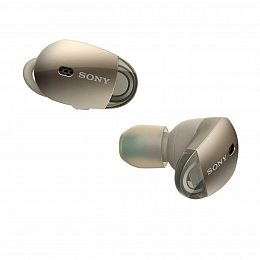 Наушники SONY WF-1000X True Wireless Noise Cancelling Headphones Gold (WF1000X/G)