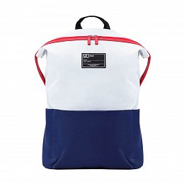 Рюкзак 90 Points Lecturer Сasual Backpack White/Blue