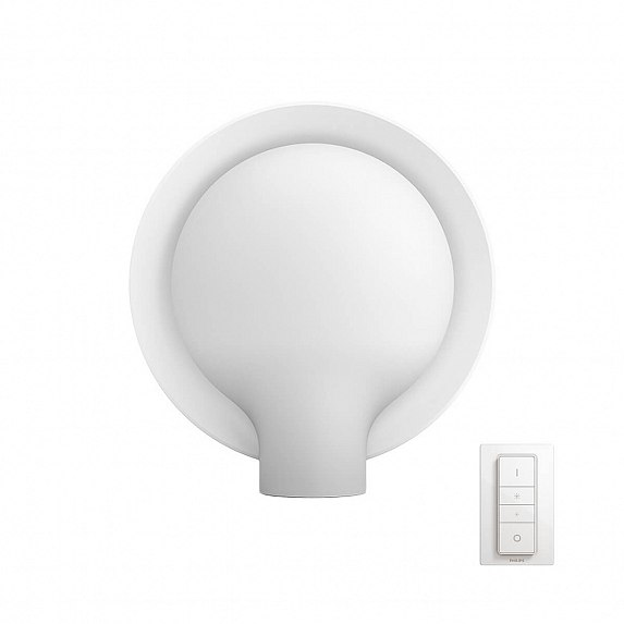 Настольная лампа PHILIPS Felicity Hue table lamp white 1x9.5W (40975/31/P7)