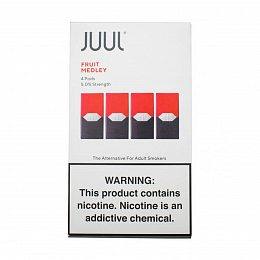 Картиридж JUUL Pods 4 pack Fruit 0.7 ml with 5% nicotine (Фрукты)
