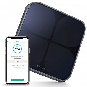 Весы YUNMAI 2 Smart Scale Black (Y2SSD)