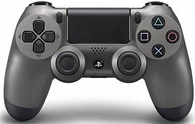 Геймпад Sony PS4 Dualshock 4 V2 Steel Black (9357179)