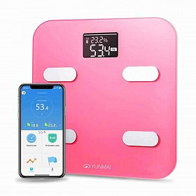 Весы YUNMAI Color Smart Scale Pink (M1302-PK)