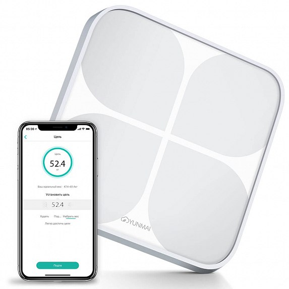 YUNMAI 2 Smart Scale Silver (080618019271714588) - Б/У