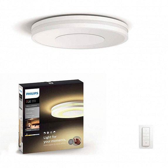 Смарт-светильник PHILIPS Being Hue ceiling lamp white 1x32W (32610/31/P7)