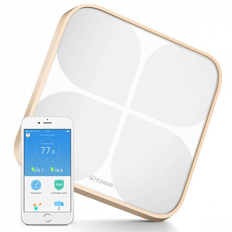 YUNMAI 2 Smart Scale Rose Gold (Y2SSRG)