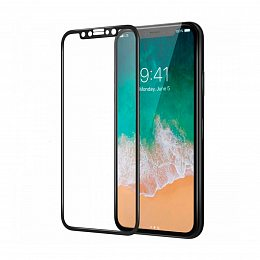 Защитное стекло LUME Protection Full 3D for iPhone XS Max Front Black