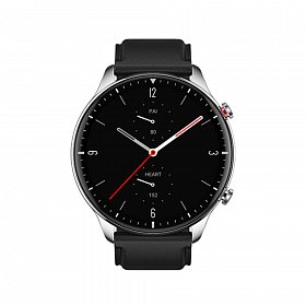 Смарт-часы Amazfit GTR 2 Classic Stainless Steel (Leather strap) Black/Silver (A1952)