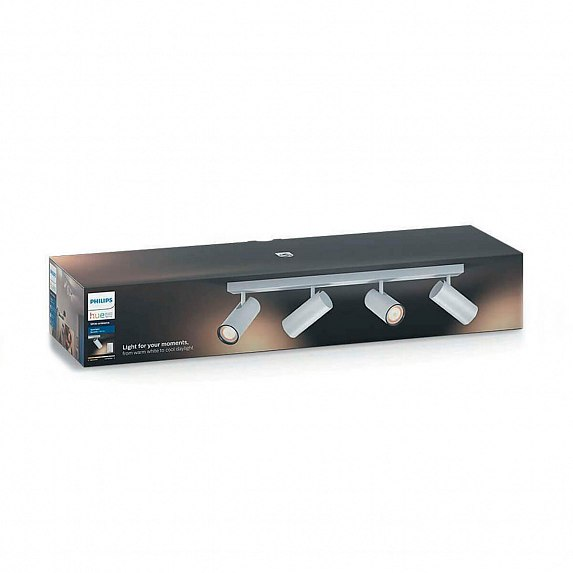 Смарт-светильник PHILIPS BURATTO bar/tube white 4x5.5W 240V (50464/31/P7)
