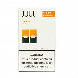 Картиридж JUUL Pods 2 pack Mango 0.7 ml with 5% nicotine (Манго)