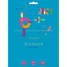 Защитное стекло JUST Diamond Glass Protector 0.4mm for iPad Air/Air 2 (JST-DMDGP-IPD5)