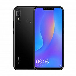 Смартфон HUAWEI P smart+ 4/64GB Black (51092TFB)