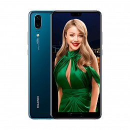 Смартфон Huawei P20 4/128GB Dual Sim Midnight Blue